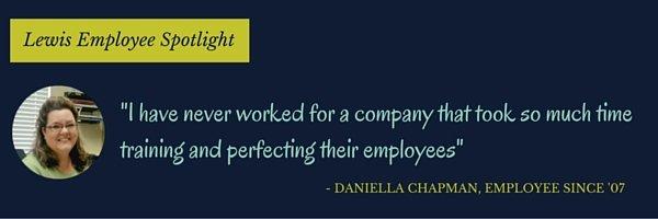 Lewis Careers Employee Spotlight Daniella Chapman