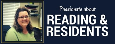 Passionate About Reading and Residents: Meet Daniella Chapman