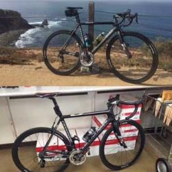 Kevin Johnson's bikes.