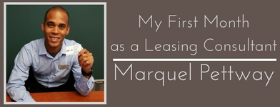 My First Month as a Leasing Consultant