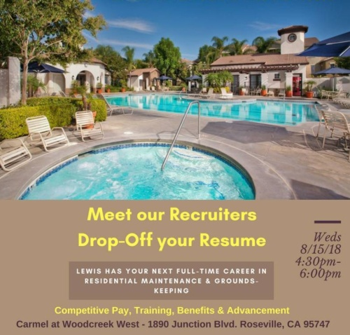 Northern California Recruiting Events – Lewis Careers